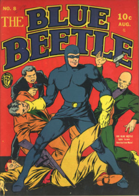 The Blue Beetle #8. Click for current values.