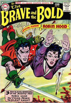 Brave and the Bold #14. Click for current values.