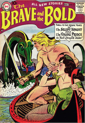 Brave and the Bold #17. Click for current values.