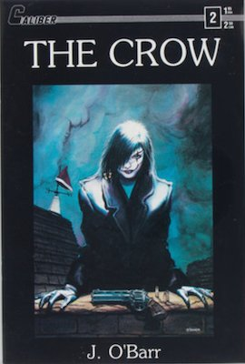 Most valuable comic books of the 1980s, The Crow #2 (1989): First printing. Click for values