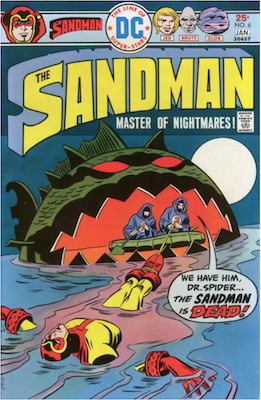 The Sandman #6. Click for values.