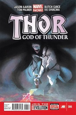 Thor: God of Thunder #6, Knull Identity Revealed. Click for values