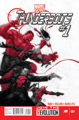 Thunderbolts #1 - #32 (vol. 2) (Marvel, 2013): Elektra Joins the Thunderbolts. Click for values