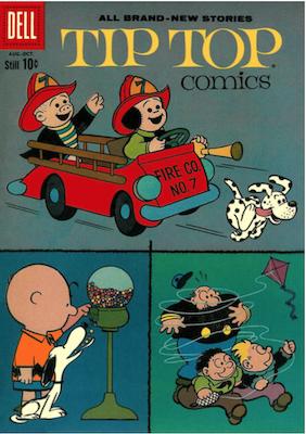 Tip Top Comics #222. Click for values.