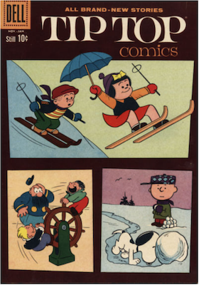 Tip Top Comics #223. Click for values.