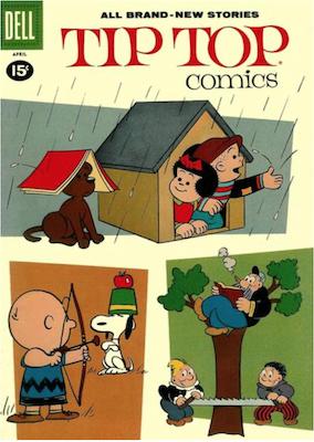 Tip Top Comics #224. Click for values.
