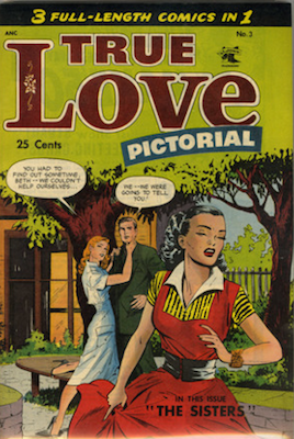 True Love Pictorial #3: Matt Baker cover. Click for values