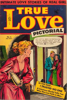 True Love Pictorial #6: Matt Baker cover art. Click for values