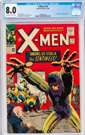 We recommend a CGC 8.0, which is a nice grade for this book without breaking the bank. Click to buy a copy