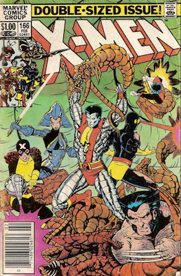 Uncanny X-Men #166 (February, 1983): First appearance of Lockheed. Click for value