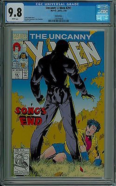 #38: Uncanny X-men 297 Gold Edition (Pressman Variant), Peterson/Panosian (1993). Click for values
