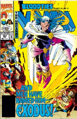 Uncanny X-Men #307 Original. Click for values