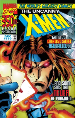 Uncanny X-Men Comics #350: Regular newsstand cover. Click for values
