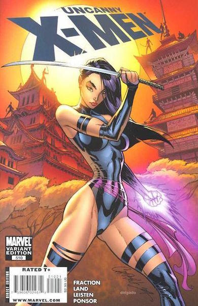 #99: Uncanny X-Men 510 Campbell Color Variant (2009). Click for values