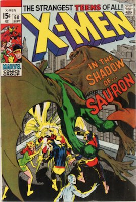 Uncanny X-Men #60: First Sauron. Click for values