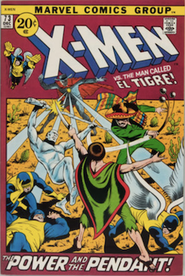 Uncanny X-Men #73. One of the reprint series which ran until #94 relaunched the series. Click for values