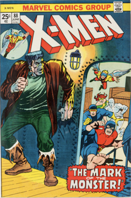 Uncanny X-Men #88. One of the reprint series which ran until #94 relaunched the series. Click for values