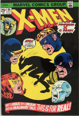 Uncanny X-Men #90. One of the reprint series which ran until #94 relaunched the series. Click for values