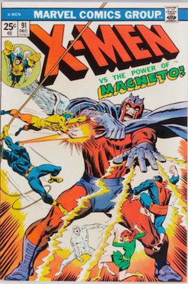 Uncanny X-Men #91. One of the reprint series which ran until #94 relaunched the series. Click for values
