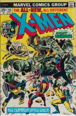 Uncanny X-Men #96: 1st appearance of Moira MacTaggert. Click for values