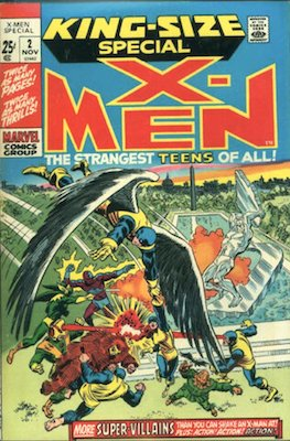 Uncanny X-Men Annual #2. Click for values