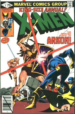 Uncanny X-Men Annual #3. Click for values