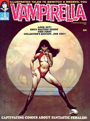 Vampirella #1 (1969): Origin and 1st Appearance of Vampirella in Horror Comic Books. Click for value