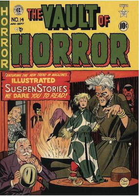 Vault of Horror #14. Click for values.