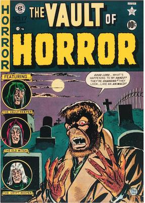 Vault of Horror #17. Click for values.