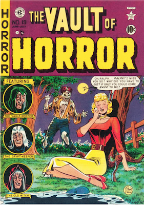 Vault of Horror #19. Click for values.