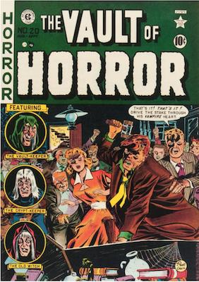 Vault of Horror #20. Click for values.