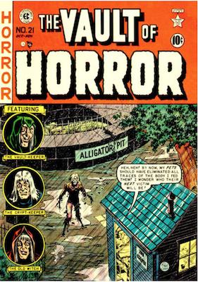Vault of Horror #21. Click for values.