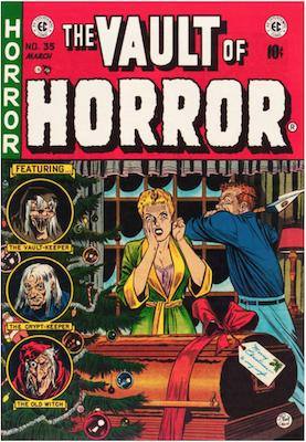 Vault of Horror #35. Click for values.