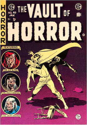 Vault of Horror #40. Click for values.