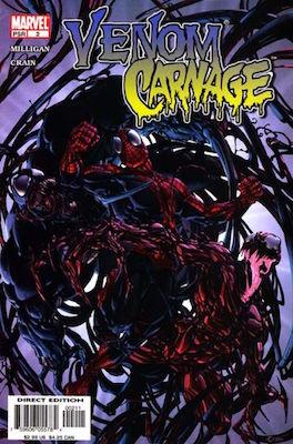 Venom vs Carnage (2004) #2. Click for values