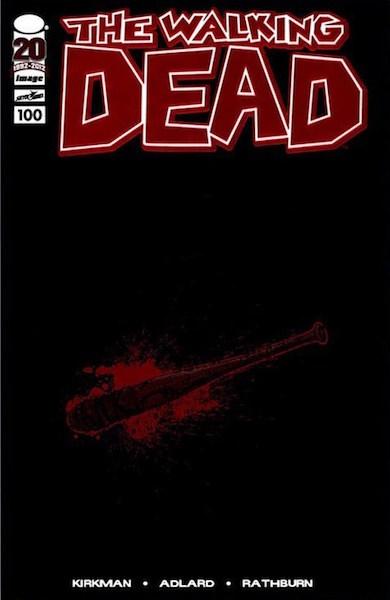 #10: Walking Dead 100 Red Foil/Lucille, Adlard (2012). Click for values