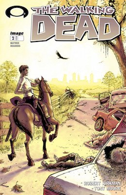 Walking Dead #2 (2003) 2nd Issue; Scarcer Than #1. Click for value