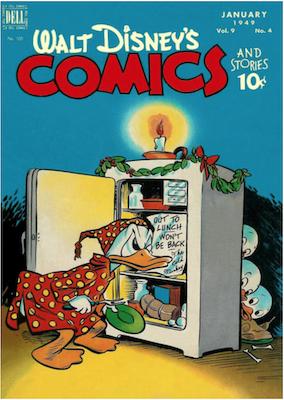 Walt Disney's Comics and Stories #100. Click for values
