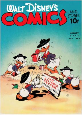 Walt Disney's Comics and Stories #11. Click for values.