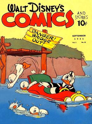 Walt Disney's Comics and Stories #12. Click for values.