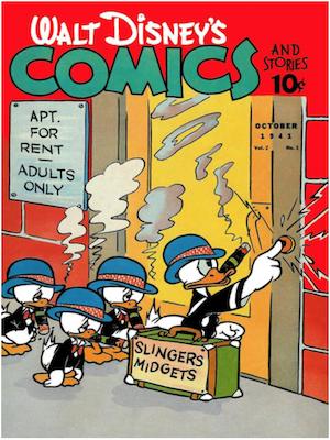 Walt Disney's Comics and Stories #13. Click for values.