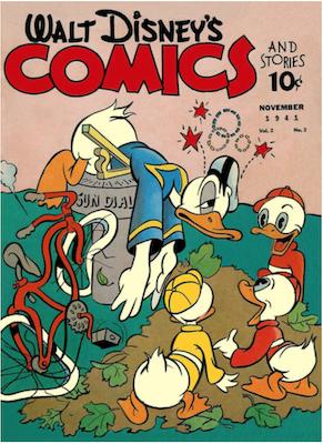 Walt Disney's Comics and Stories #14. Click for values.