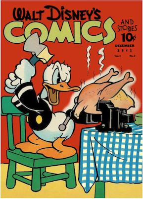 Walt Disney's Comics and Stories #15. Click for values.