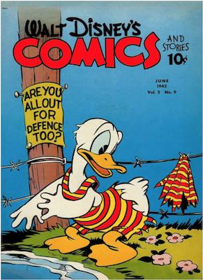 Walt Disney's Comics and Stories #21. Click for values.