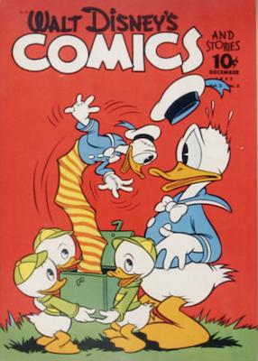 Walt Disney's Comics and Stories #27. Click for values.