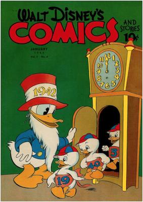 Walt Disney's Comics and Stories #28. Click for values.