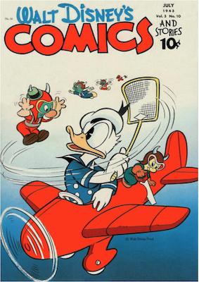 Walt Disney's Comics and Stories #34. Click for values.