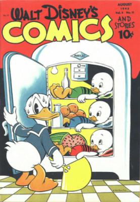 Walt Disney's Comics and Stories #35. Click for values.