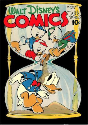 Walt Disney's Comics and Stories #40. Click for values.
