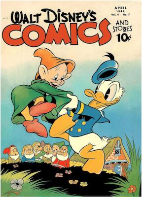 Walt Disney's Comics and Stories #43. Click for values.